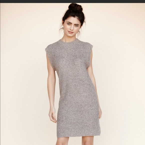 Callahan Dresses & Skirts - Waffle crew neck tank dress